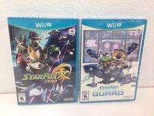 Star Fox Zero with Star Fox Guard 2 Disc Set (Nintendo Wii U, 2016)