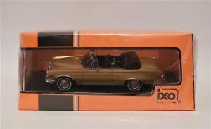 1/43 IXO CLC315N  1969 Mercedes Benz 280 SE 3.5 Cabriolet  Gold
