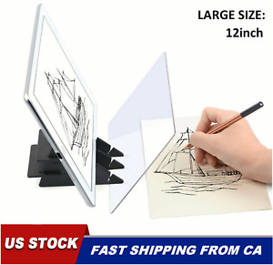 12'' Sketch Tracing Drawing Board Optical Reflections Projector Art Painting