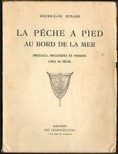 LIVRE BORD DE MER PECHE A PIED MAURICE RENARD 1955
