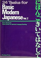 24 Tasks for Basic Modern Japanese Vol 2