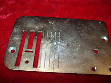 PFAFF NEEDLE PLATE 1222 1200 GOOD CONDITION 9304008735