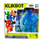 Zing Klikbot COSMOS Series 1  Blue  Stop Motion Animation Toy Figure