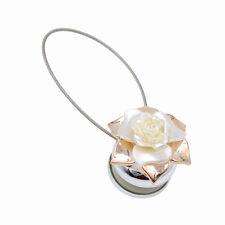 Raffhalter Blume Vorhang Gardine Zugband Magnet Fenster Deko Gardinenspange