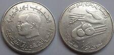 Tunesien 1/2 Dinar 1976