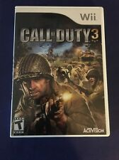 Nintendo Wii Call of Duty 3 Game – Tested - Complete