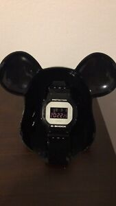 Medicom Bearbrick Black Casio G Shock DW 5600 Limited Exclusive POP
