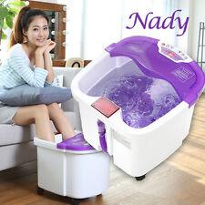 Nadi Bm-205 Bubble Bath Foot Spa Massager 12l with Vibration Bubble Ac220v …