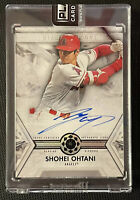 🔥 SHOHEI OHTANI 2019 TOPPS DIAMOND ICONS #1/5 AUTO DIAMOND RELIC CARD ANGELS 🔥