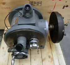 "LEITZ OPTO-METRIC 8 3/4"" PRECISION HORIZONTAL & VERTICLE AXIS ROTARY INDEXER"