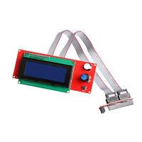 New Smart 2004 LCD Controller Panel SD Card Reader For 3D Printer Reprap Ramps