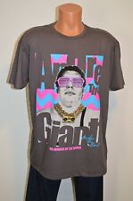 New Andre the Giant 8th Wonder of the World Grey/Neon  Graphic Tee Shirt XL
