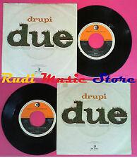 LP 45 7'' DRUPI Due Bagno a mezzanotte 1975 italy RICORDI SRL 10760 no cd mc*vhs