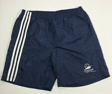 Adidas 1998 France World Cup Soccer Shorts Mens XL 90s Nylon Tri-Stripe Trunks