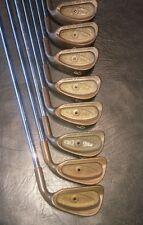 Ping Eye 2 Beryllium Copper Iron Set. 3 Thru PW. BLACK DOT. Stiff Steel Shafts.