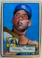 1993 R&N China, 1952 52 Topps Mickey Mantle #311, Porcelain Reprints, #'d 50K