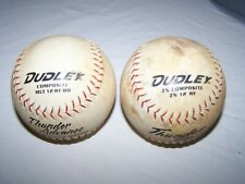 "Dudley 12"" Softball Thunder Advance And Zn Asa Certified .44/375 Qty 2"