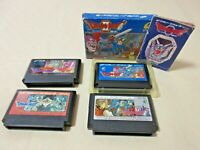 Dragon quest ⅠⅡ Ⅲ Ⅳ 1  2 3 4  fc Famicom Nintendo NES Japanese game From Japan