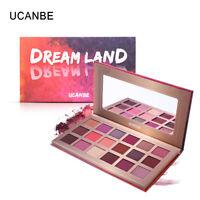 UCANBE 18 Colors Eye Shadow Pearl Metallic Eyeshadow Palette Makeup QF3