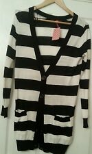 Striped cardigan...H&M...size 10