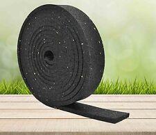 2,98€//m 10000x80x8 mm Terrassenpad Terrassenpads Gummigranulat Rolle Streifen