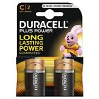 10 x Duracell C Size Plus Power Alkaline Batteries (LR14, MN1400, MX1400, BABY)