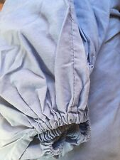 Cornflower Blue Double Fitted Sheet