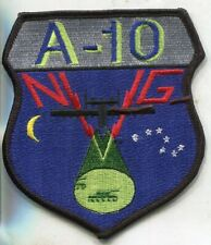 USAF A-10 Fighter Weapons School NVG Night Vision Goggles Patch