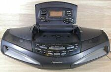 Panasonic RX-ED77 Boombox Cassette Player/Recorder Radio Ghetto Blaster 90s