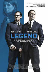 A3 LEGEND MOVIE POSTER PRINT - BUY2GET1FREE (L2) - KRAYS/TOM HARDY/GANGSTERS