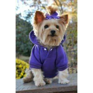 DOGGIE DESIGN SPORT HOODIE FOR DOGS - ULTRA VIOLET SIZE 3XL MSRP $19.99