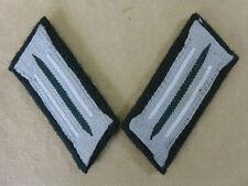Wehrmacht Infanterie M36 Uniform Kragenspiegel Feldbluse Heer weiße Paspel