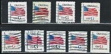 U.S.Flag Stamps Scott#2881a,2882-2887,2890,2892.(used)