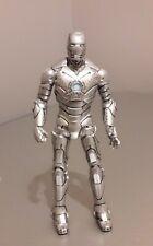 "Rare Iron Man 2 Mark II 4"" figure Movie Series #02 Marvel Hasbro 2010"