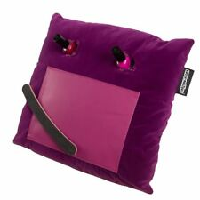Coz-E Purple Velvet Nailbar Manicure Cushion Nail Varnish Painting Holder Tray