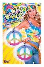 Generation Hippie - Rainbow Peace Earrings