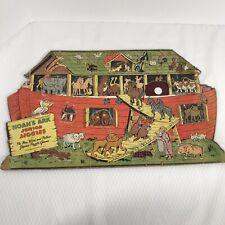 Noah's Ark Junior Jiggies  Jigsaw Puzzle No 2 Vintage 1946