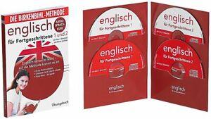 Audio-Sprachkurs Birkenbihl Englisch Fortgeschrittene 1 + 2