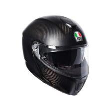 Motorrad Helm AGV Sportmodular Mono Solid (B-Ware) Farbe: Carbonmatt Gr: XXL(63)
