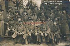 Ak, Wk1, Unsere Garde, Charlottenburg 1916 (G)19183