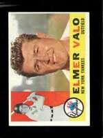 1960 TOPPS #237 ELMER VALO EX YANKEES  *SBA0503