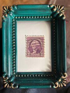 Washington 3 Cent Stamp Violet RARE