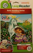 LeapFrog LeapReader Dora the Explorer Advanced Phonics Unicorn Story