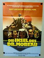 INSEL DES DR. MOREAU / Island of Dr. Moreau * A1-Filmposter 1977 Burt Lancaster