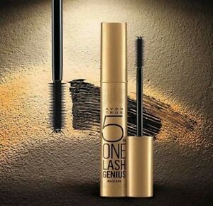 AVON True 5 in 1 Lash Genius Mascara Blackest Black New & Sealed