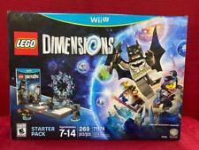 Lego Dimensions Nintendo Wii U Pack Principiante #71174 Nuevo En Caja