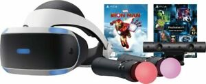 PlayStation VR Marvel's Iron Man VR Bundle + Camera + Headset + Move Controllers