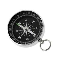 Portable G44-2 Outdoor Aluminum Camping Compass Keychain Gift For Presents E6Y4