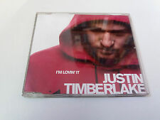 "JUSTIN TIMBERLAKE ""I'M LOVIN' IT"" CD SINGLE 3 TRACKS"