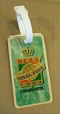Ncaa Final Four 1994 Charlotte Hunter Group Unused American Luggage Tag Free S/H